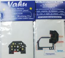 Yahu Models YMA3208 1/32 PE North-American P-51D Mustang instrument panel